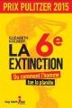 Couverture : Sixième extinction Elizabeth Kolbert