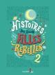 Couverture : Histoires du soir pour filles rebelles T.2 Francesca Cavallo, Elena Favilli