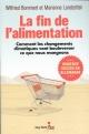 Couverture : La fin de l'alimentation : comment les changements climatiques... Wilfried Bommert, Marianne Landzettel