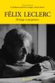 Couverture : Félix Leclerc, le Roi centenaire : héritage et perspectives