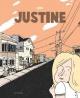 Couverture : Justine  Iris