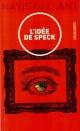 Couverture : Idée de Speck (L') Mavis Gallant