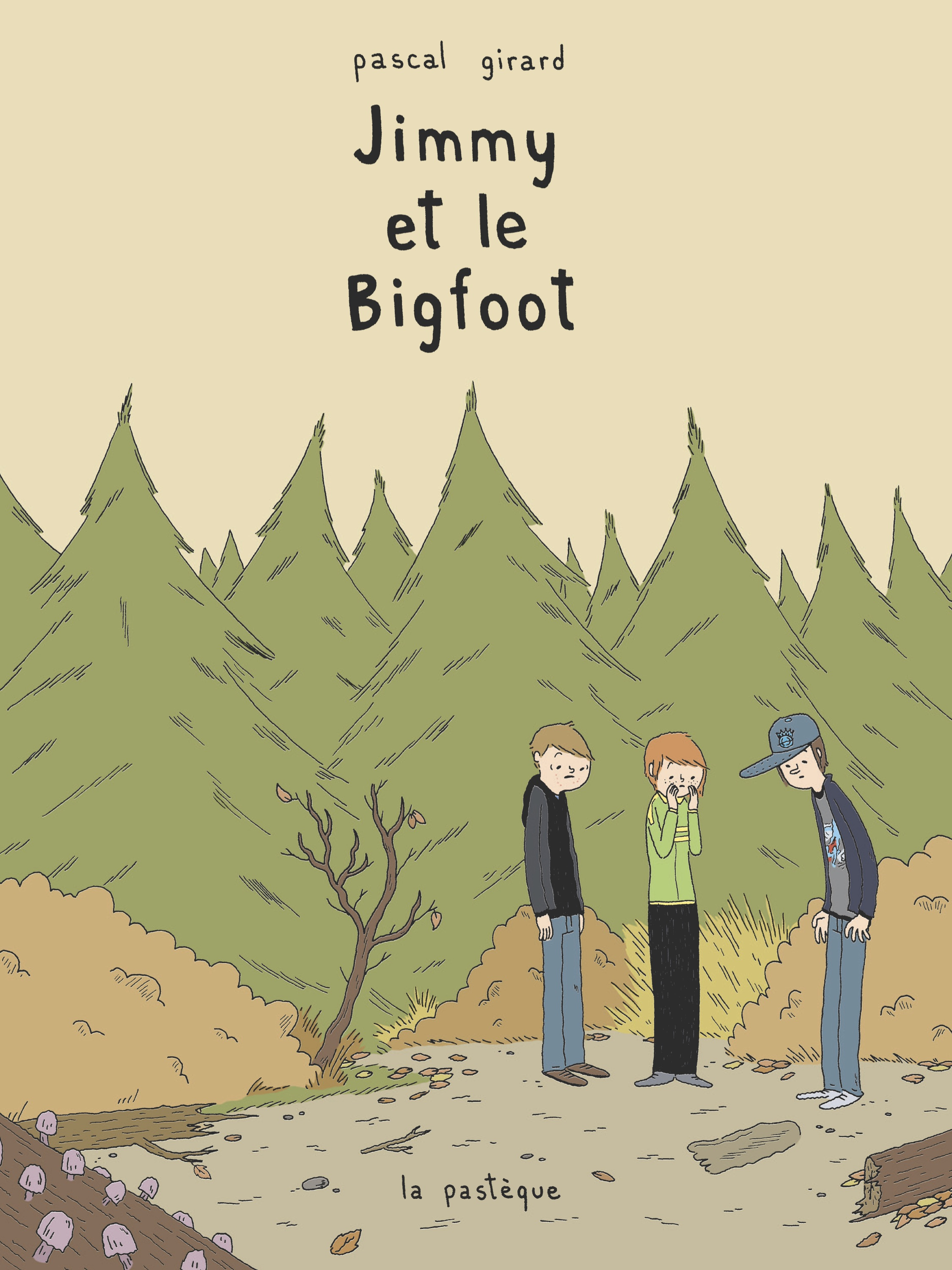 Couverture : Jimmy et le Bigfoot Pascal Girard