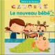 Couverture : Le nouveau bébé Lucie Papineau, Julie Cossette