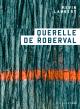 Couverture : Querelle de Roberval Kevin Lambert