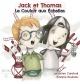 Couverture : Jack et Thomas : Le couloir aux échelles Sébastien Cardinal