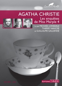 Les enquêtes de Miss Marple T.4  CD mp3  (1h34) - Agatha Christie