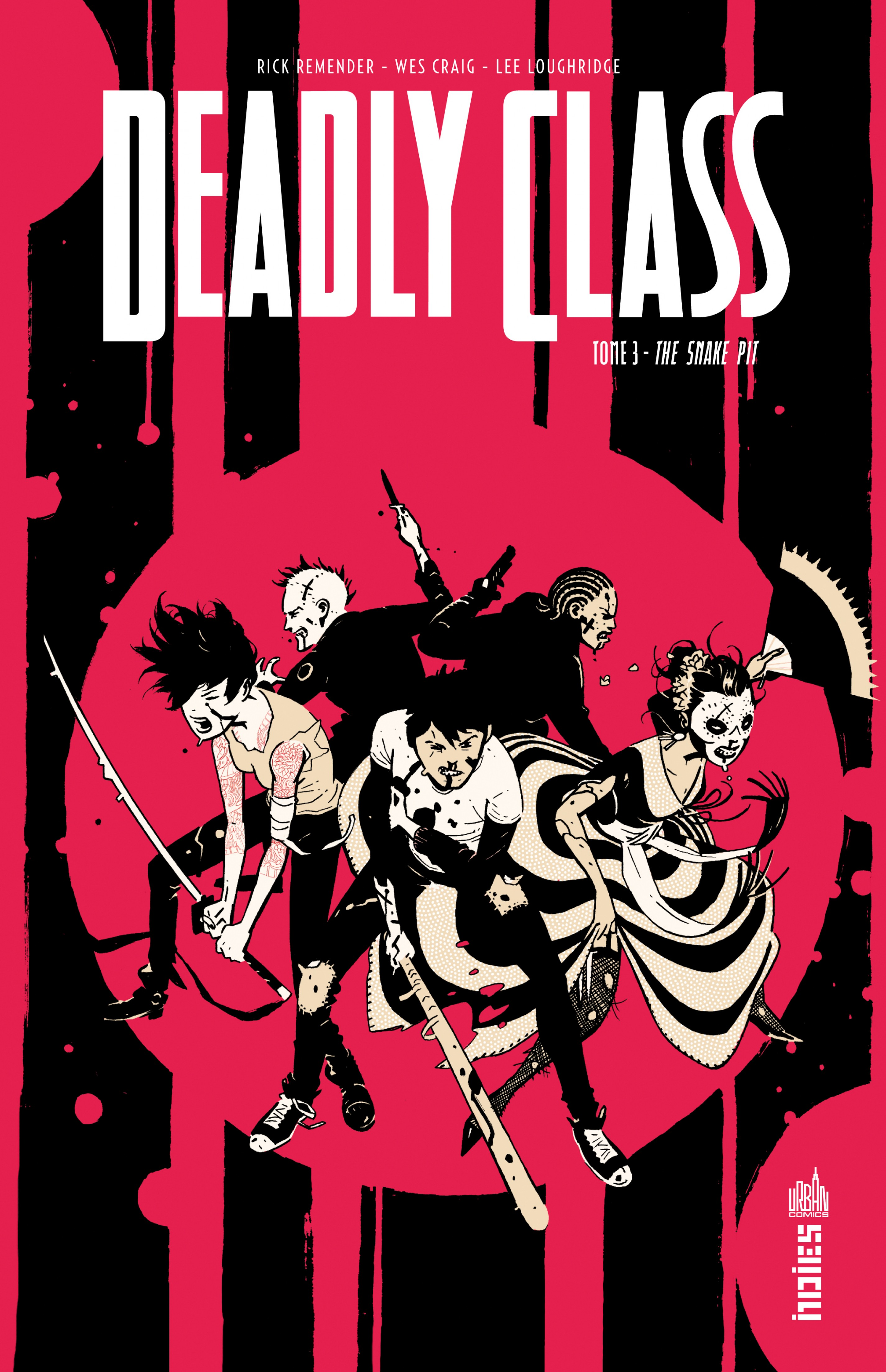 Vignette du livre Deadly Class T.3 : The Snake Pit