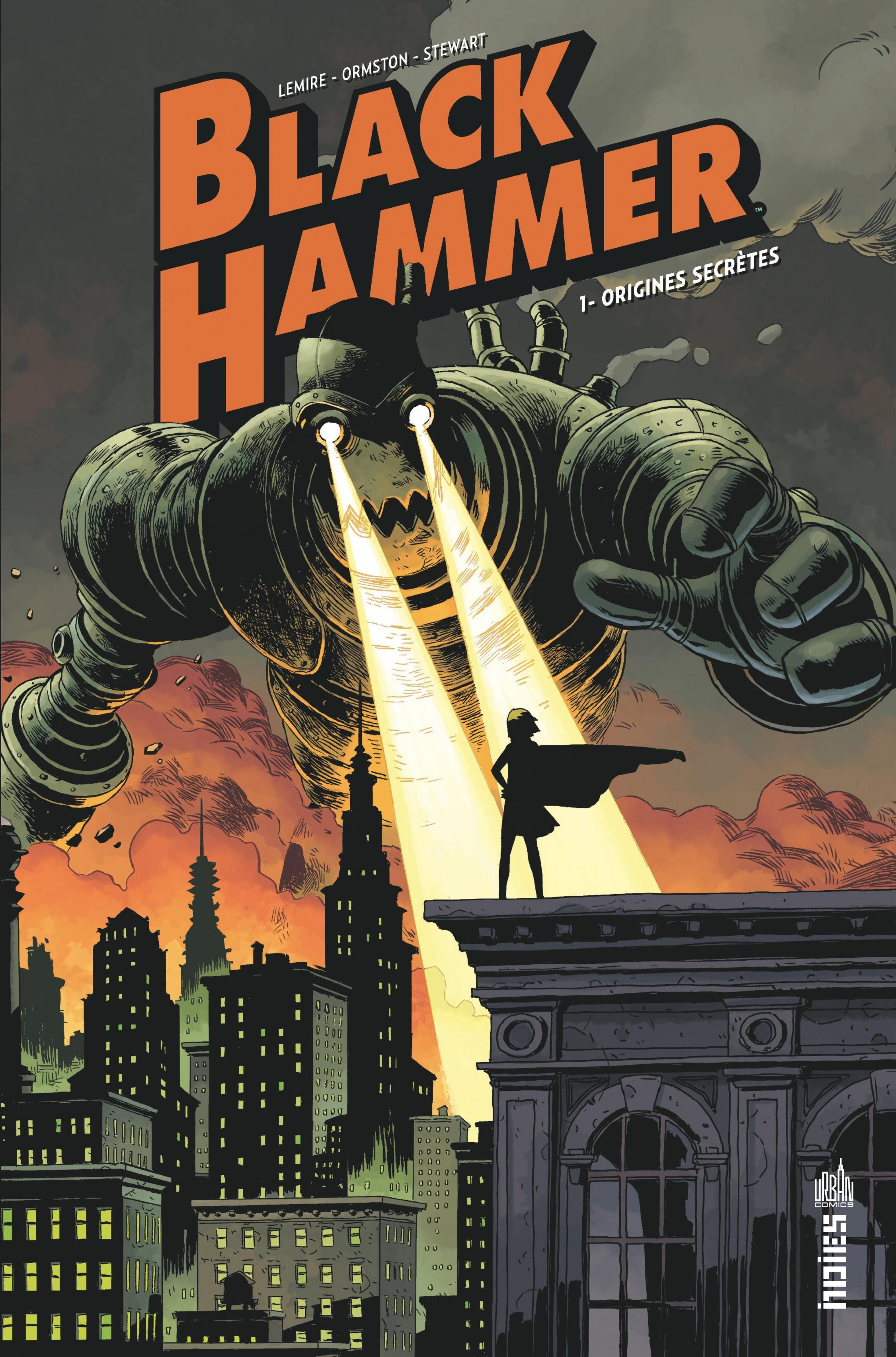 Black Hammer T.1 : Origines secrètes