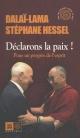 Couverture : Pour une nouvelle Déclaration universelle des droits de l'homme  Dalaï-lama 14, Stéphane Hessel