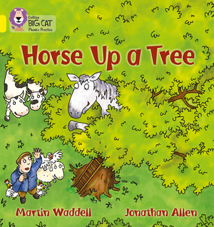 Vignette du livre Horse up a Tree: Band 03/Yellow (Collins Big Cat Phonics)