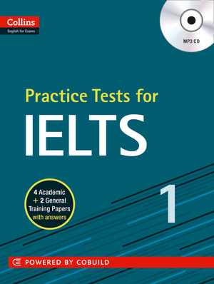 Vignette du livre IELTS Practice Tests Volume 1: With Answers and Audio (Collins English for IELTS)