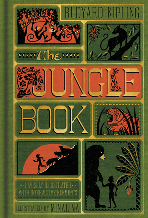 Vignette du livre The Jungle Book (Illustrated with Interactive Elements)