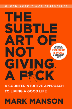 Vignette du livre The Subtle Art of Not Giving a F*ck