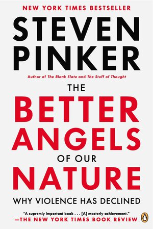 Vignette du livre The Better Angels of Our Nature