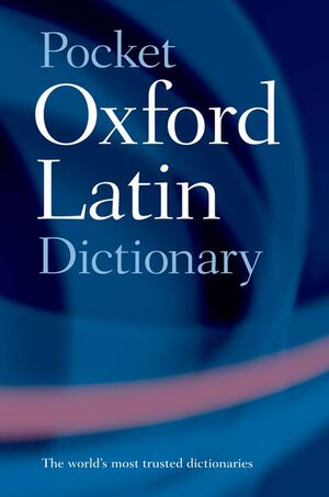 Vignette du livre Pocket Oxford Latin Dictionary