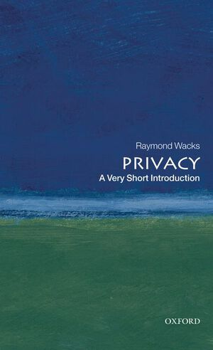 Vignette du livre Privacy: A Very Short Introduction