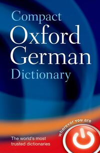 Vignette du livre Compact Oxford German Dictionary