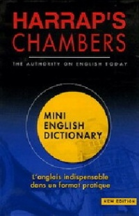 Vignette du livre Harrap'S Chambers Mini English Dictionary
