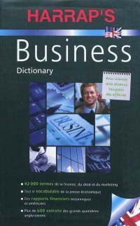 Vignette du livre Harrap's Business Dictionary : angl./frs -frs/angl.