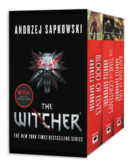 Vignette du livre The Witcher Boxed Set: Blood of Elves, The Time of Contempt, Baptism of Fire