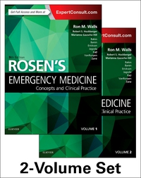 Vignette du livre Rosen's Emergency Medicine: Concepts and Clinical Practice: 2-Volume Set, 9e