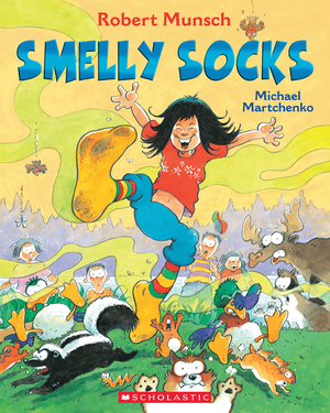 Vignette du livre Smelly Socks