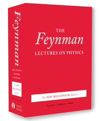 Vignette du livre The Feynman Lectures on Physics, boxed set