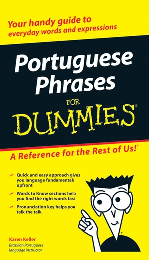 Vignette du livre Portuguese Phrases For Dummies