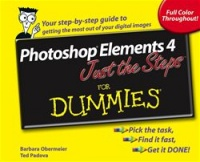 Vignette du livre Photoshop® Elements 4 Just the Steps For Dummies®