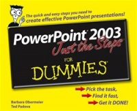 Vignette du livre PowerPoint 2003 Just the Steps For Dummies