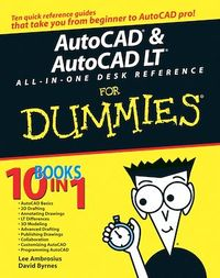 Vignette du livre AutoCAD & AutoCAD LT All-in-One Desk Reference For Dummies®