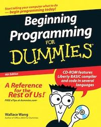 Vignette du livre Beginning Programming For Dummies