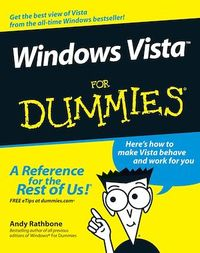 Vignette du livre Windows Vista For Dummies