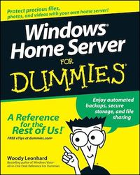 Vignette du livre Windows Home Server For Dummies