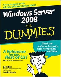 Vignette du livre Windows Server 2008 For Dummies