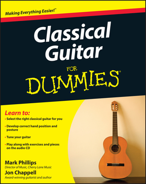 Vignette du livre Classical Guitar For Dummies