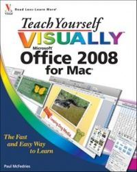Vignette du livre Teach Yourself VISUALLY Office 2008 for Mac