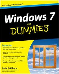 Vignette du livre Windows 7 For Dummies