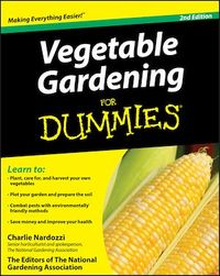 Vignette du livre Vegetable Gardening For Dummies
