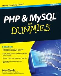 Vignette du livre PHP and MySQL For Dummies