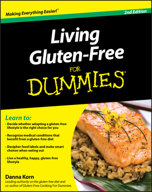 Vignette du livre Living Gluten-Free For Dummies
