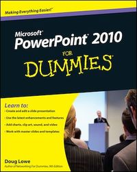 Vignette du livre PowerPoint 2010 For Dummies