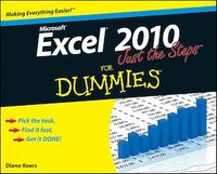 Vignette du livre Excel 2010 Just the Steps For Dummies