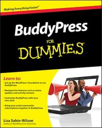 Vignette du livre BuddyPress For Dummies