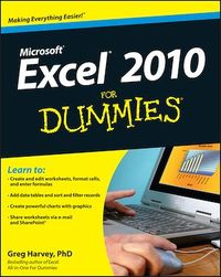 Vignette du livre Excel 2010 For Dummies