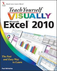 Vignette du livre Teach Yourself VISUALLY Excel 2010