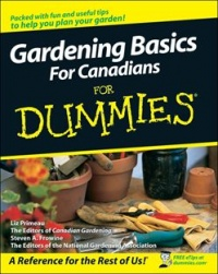 Vignette du livre Gardening Basics For Canadians For Dummies
