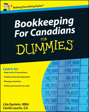 Vignette du livre Bookkeeping For Canadians For Dummies