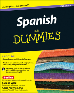 Vignette du livre Spanish For Dummies